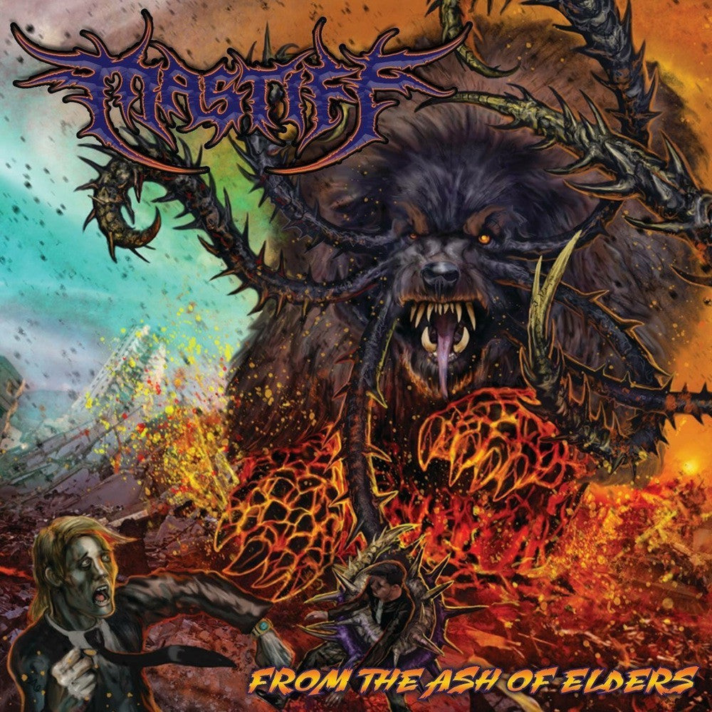 Mastiff- From The Ash Of Elders CD on Twin Town Tyrant Rec.