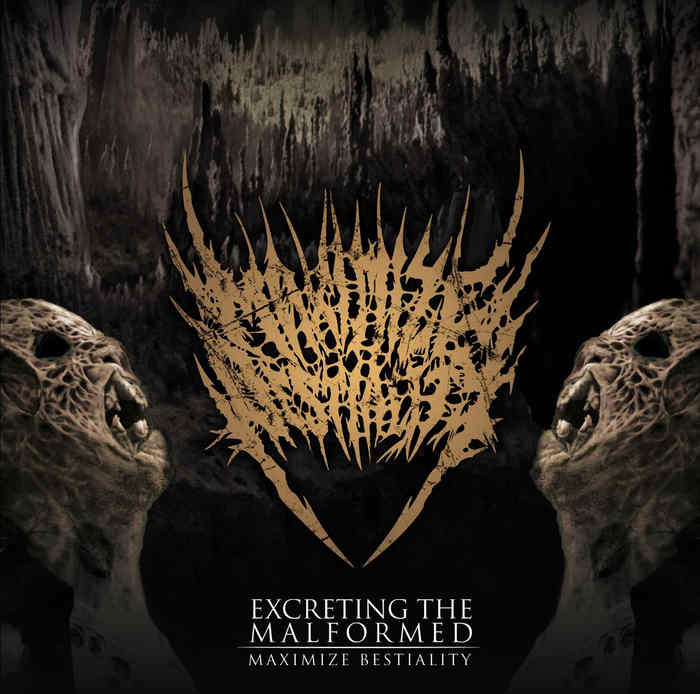 Maximize Bestiality- Excreting The Malformed CD on Death Metal Industry