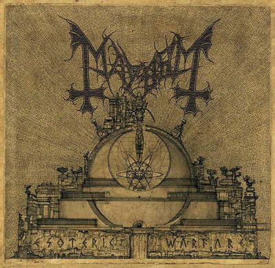 Mayhem- Esoteric Warfare CD on Helvete Rec.