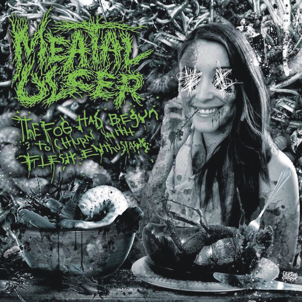 Meatal Ulcer- The Fog Has Begun To Churn With Flesh Enthusiasm CD on Bizarre Leprous Prod.