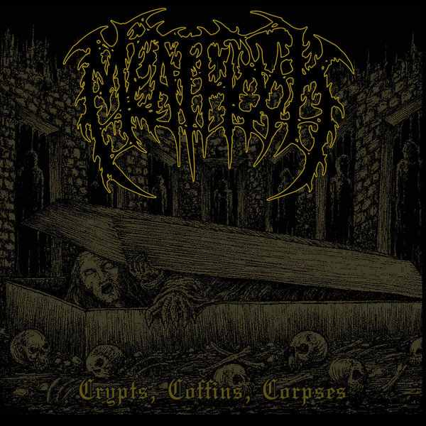Meathook- Crypts, Coffins, Corpses CD on Unmatched Brutality