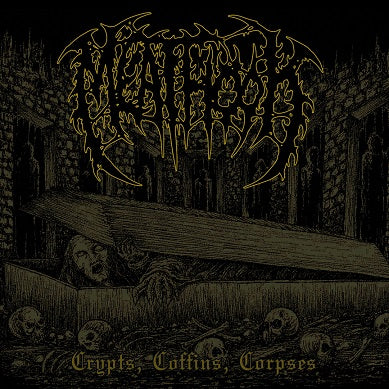 Meathook- Crypts, Coffins, Corpses CD on Unmatched Brutality Rec.