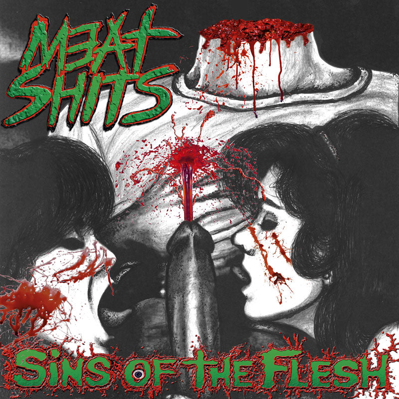 MEAT SHITS- Sins Of The Flesh CD on Sevared Records