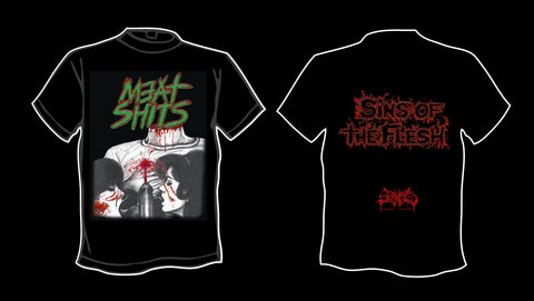 MEAT SHITS- Sins Of The Flesh T-SHIRT S-XXL
