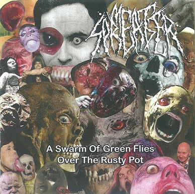 Meat Spreader- A Swarm Of Green Flies Over The Rusty Pot CD on Obliteration Rec.