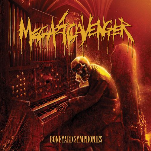 Megascavenger- Boneyard Symphonies CD on Self Made God Rec.