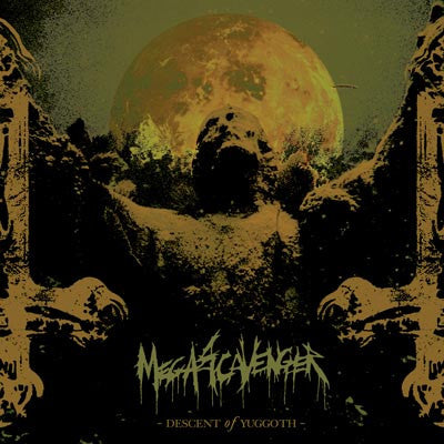 Megascavenger- Descent Of Yuggoth CD on Self Made God Rec.