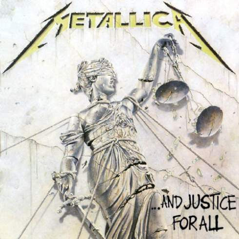 Metallica- ...And Justice For All CD on Vertigo