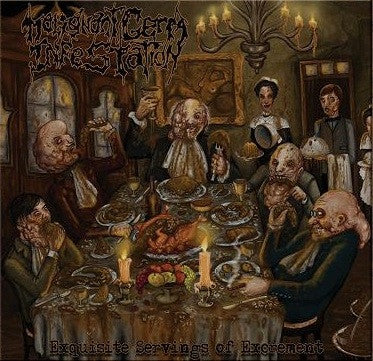 Malignant Germ Infestation- Exquisite Servings Of Excrement CD on Bizarre Leprous Prod.