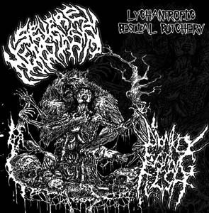 Monkey Eating Flesh / Severe Metastasis- Lychantropic Bestial Bu