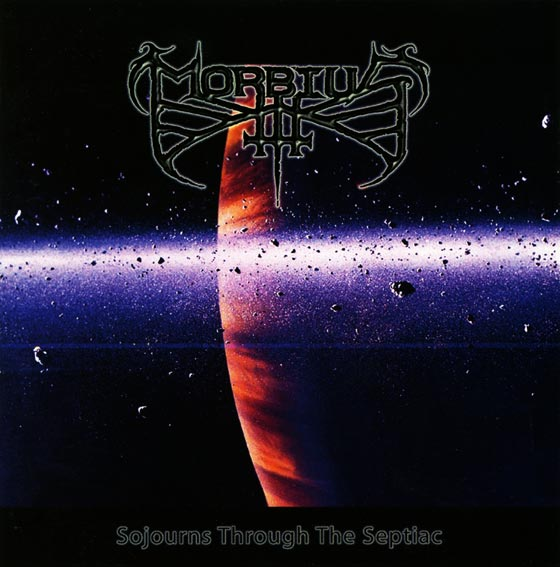 Morbius- Sojourns Through The Septiac CD on Lost Appartions