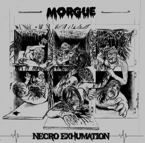 Morgue- Necro Exhumation Discography CD on Disembodied Rec.