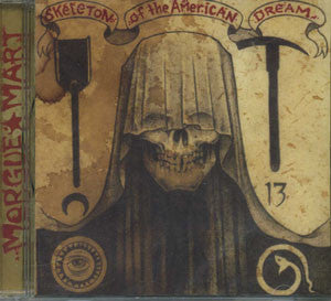 Morguemart- Skeleton Of The American Dream CD on Deadslab Rec.