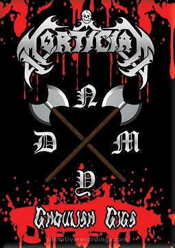 Mortician- Ghoulish Gigs DVD on Mortician Rec.