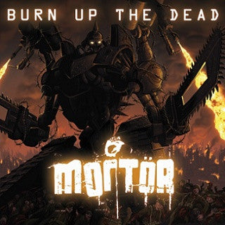 Mortor- Burn Up The Dead CD on CDN Rec.