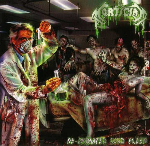 Mortician- Re Animated Dead Flesh CD on Mortician Rec.