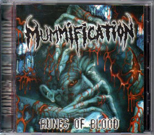 Mummification- Runes Of Blood CD on Brutalized Records