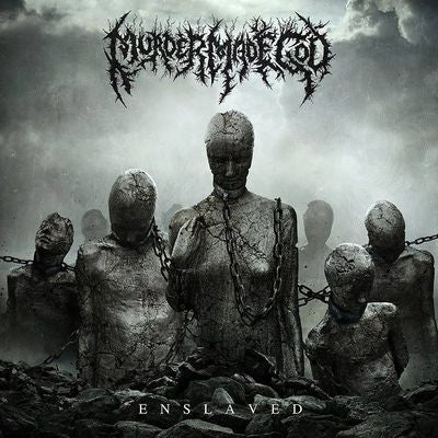 Murder Mad God- Enslaved CD on Comatose Music