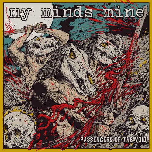 My Minds Mine- Passengers Of The Void CD on Self Made God