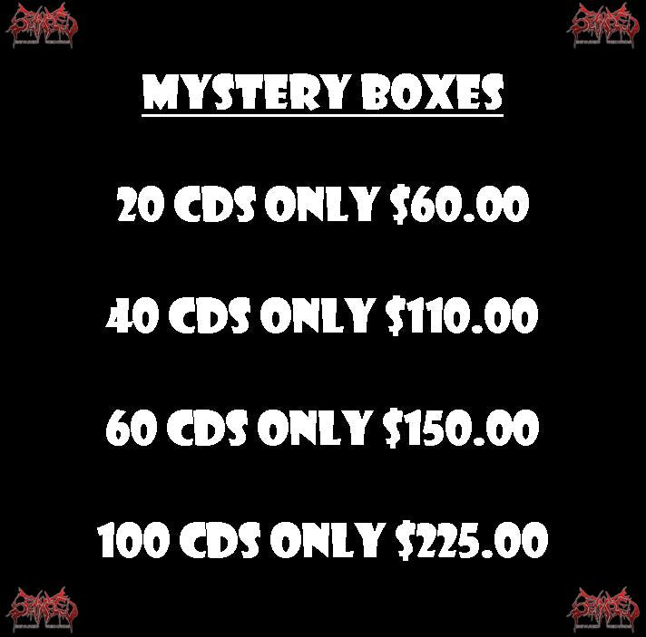 MYSTERY BOXES- 20 - 100 CDS PACKAGE DEALS
