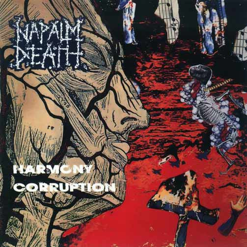 Napalm Death- Harmony Corruption w/ Bonus Tracks DIGI-CD on Eara