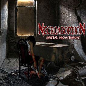 Necroabortion- Brutal Misanthropy CD on Disembodied Rec.
