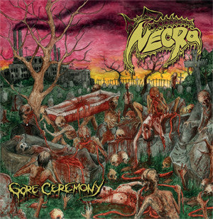 Necro- Gore Ceremony CD on Terror From Hell Rec.