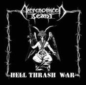 Necronomicon Beast- Hell Thrash War CD on Hell Prod.