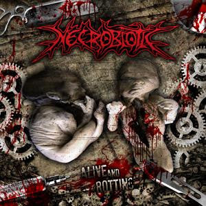 Necrobiotic- Alive And Rotting CD on Songs For Satan Rec.