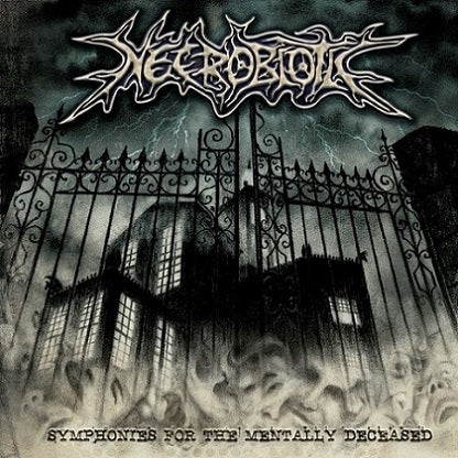 Necrobiotic- Symphonies For The Mentally Deceased CD on Songs For Satan