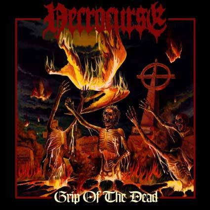 Necrocurse- Grip Of The Dead CD on Soul Erazer Rec.