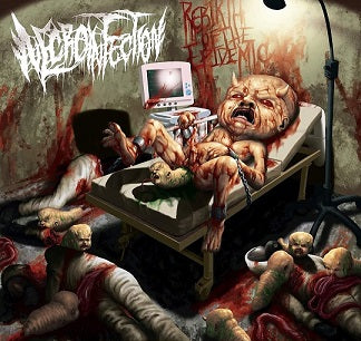 Necroinfection- Rebirth Of The Epidemic CD on Gore Cannibal Rec.