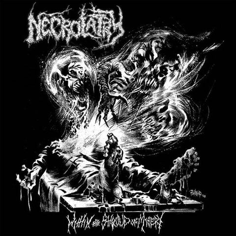 Necrolatry- Within The Shroud Of Misery CD on P.E.R.