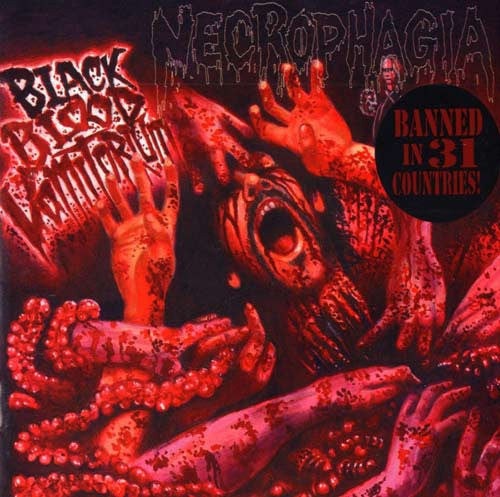 Necrophagia- Black Blood Vomitorium CD on Red Stream