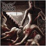 Necrotic Disgorgement- Suffocated In Shrinkwrap Re-Issue CD on C