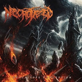 Necrotized- Apocalypse Conception CD on Disembowel Records