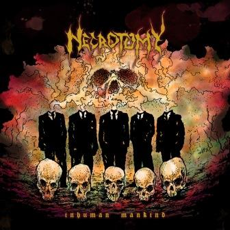 Necrotomy- Inhuman Mankind CD on Metal Or Die Rec.