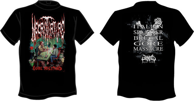 NECROTORTURE- Gore Solution T-SHIRT LARGE