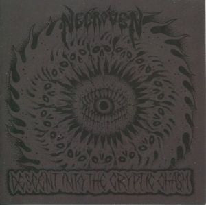 "Necroven- Descent Into The Cryptic Chasm 7"" EP VINYL on Blood Harvest Rec."