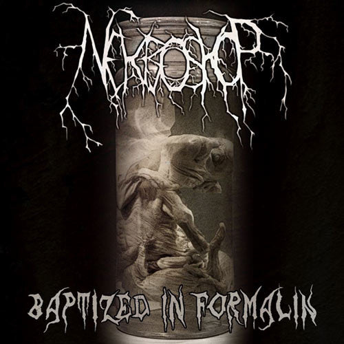 NEKROSKOP- Baptized In Formalin CD on Goregeous Prod.
