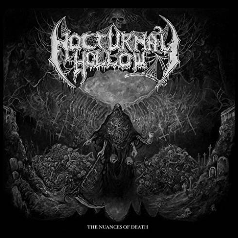 Nocturnal Hollow- The Nuances Of Death CD on Lord Of The Sick Rec.