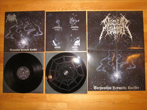 "Nuclear Hammer- Serpentine Hermetic Lucifer DOUBLE 12"" GATEFOLD"