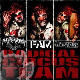 Nuclear Vomit / FAM / Grindbashers- Split CD on Let It Bleed Rec