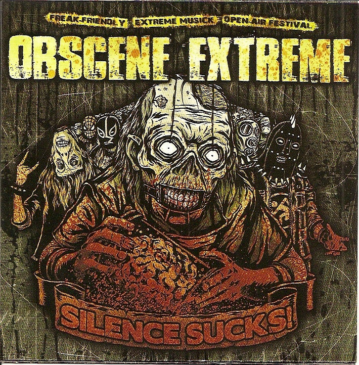 Obscene Extreme- Silence Sucks Comp. 2010 SICK!!!!