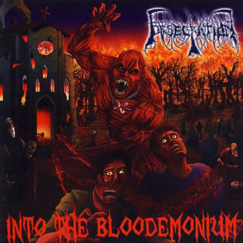 Obsecration- Into The Bloodemonium CD