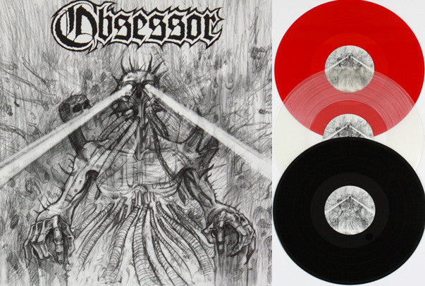 "Obsessor- Obsession Collection 12"" LP BLACK VINYL"
