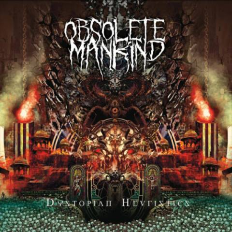 Obsolete Mankind- Dystopian Heuristics CD on PRC Music