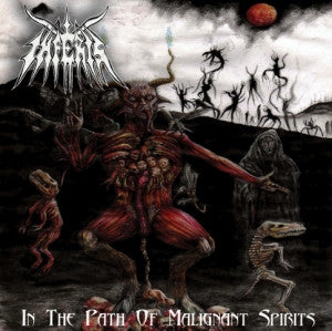 Inferis- In The Path Of malignant Spirit CD on Old Temple Rec.