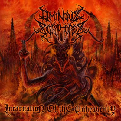 Ominous Scriptures- Incarnation Of The Unheavenly CD on Permeated Rec.