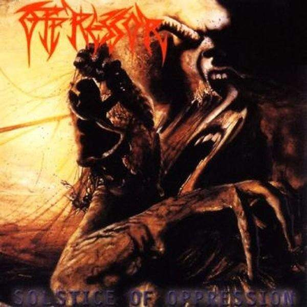 Oppressor- Solstice Of Oppression CD on Disembodied Rec.